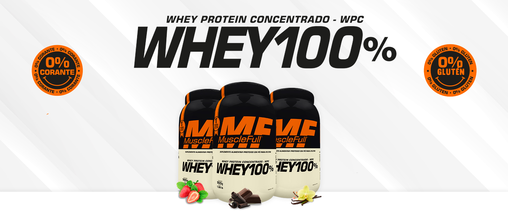 Whey Protein 100% Concentrado