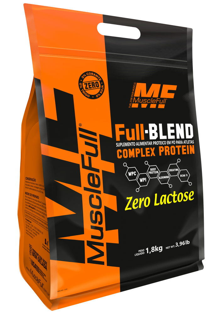 Full Blend Complex Protein 1.8kg  - Muscle Full