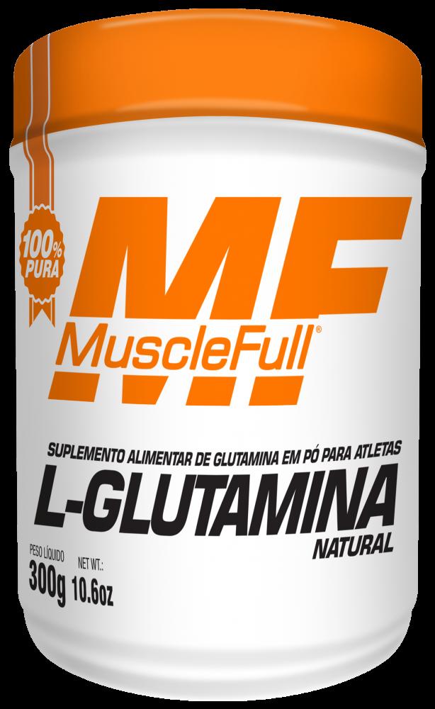 L-Glutamina 100% 300g - Muscle Full