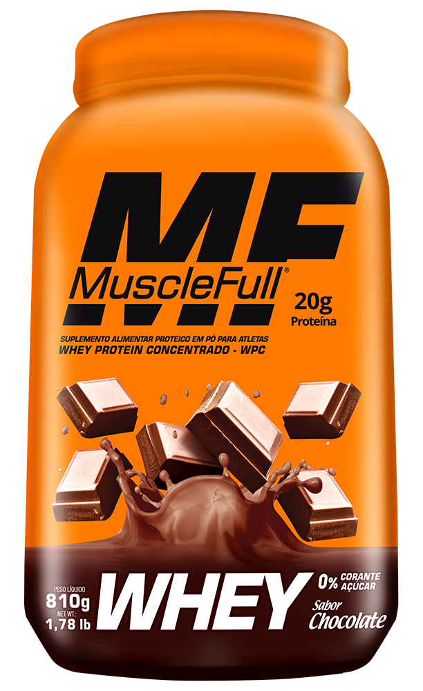 Whey Quality Concentrado 810g  - Muscle Full